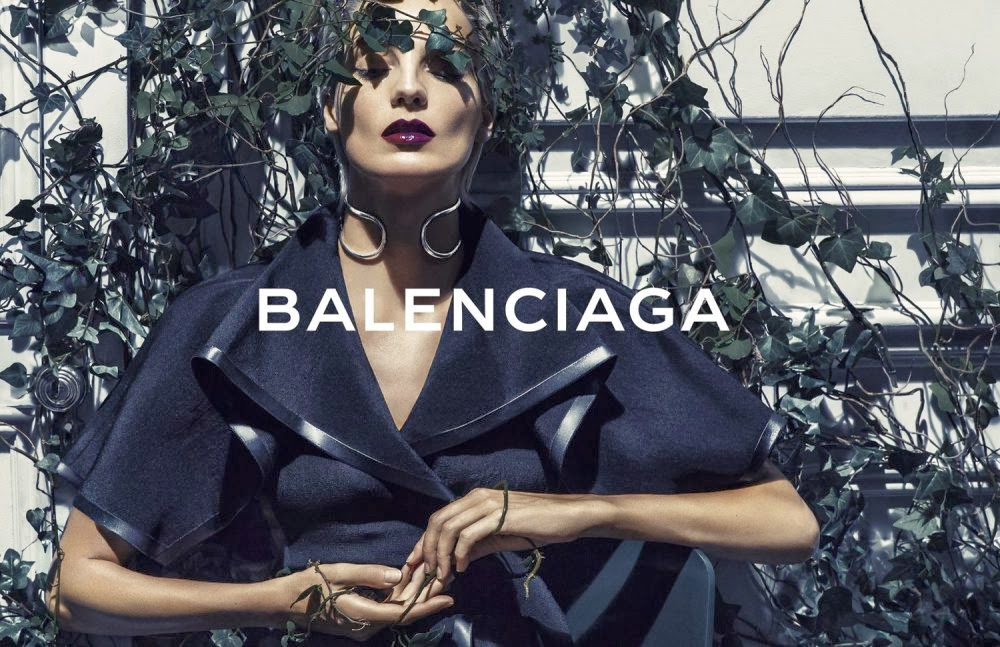 Magazine Photoshoot : Daria Werbowy Photoshot For Balenciaga Magazine Verão 2014 Issue