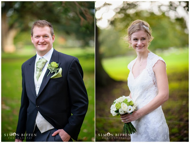 Bride and Groom portraits Maunsel House