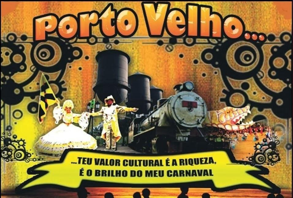 """ENREDO 2014: """"PORTO VELHO ... O TEU VALOR CULTURAL É A RIQUEZA E O BRILHO DO MEU CARNAVAL"""""""