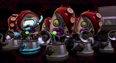 Splatoon Octarian Octolings story mode enemies