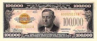 100,000 USD Tahun 1934 Palsu