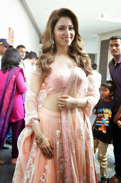 Tamanna Bhatia Looks Super Sexy At Zee Telugu Press Meet