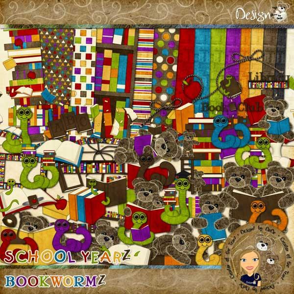 School YearZ: BookwormZ by DeDe Smith (DesignZ by DeDe)