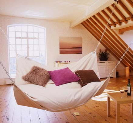 Living Room Hammock : Foundation Dezin & Decor...: Hammock beds.