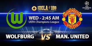 Prediksi Wolfburg vs Manchester United 9 Desember 2015   Liga Champions