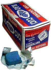 Cara Pembuatan Blau Cuci