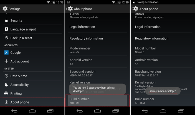 Mengaktifkan USB Debuging di Android Android KitKat 4.4.2