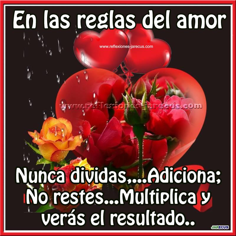 Amor, Adición, resta, multiplica, resultado, frases de amor