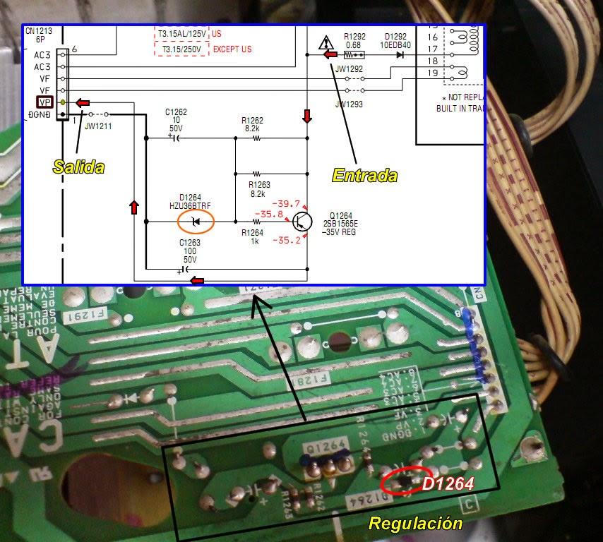 HCD-GNX60 no enciende pantalla (display) | Laboratorio Electrónico ...