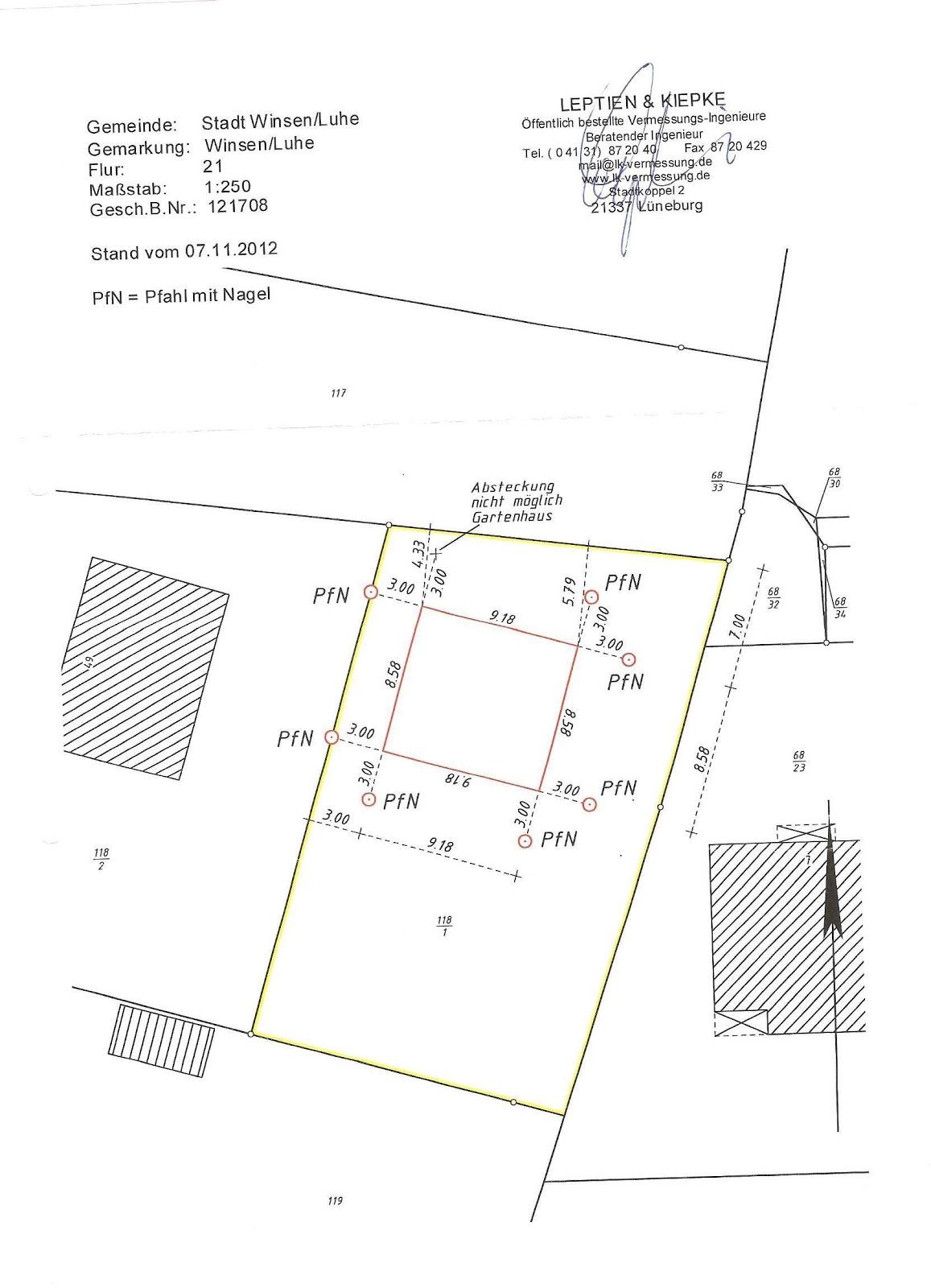 familie bruns baut ein danwood haus point 127 vermessung und bodengutachten. Black Bedroom Furniture Sets. Home Design Ideas