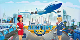 Game Airport City Mod Apk v4.3.2.1 Free Shopping