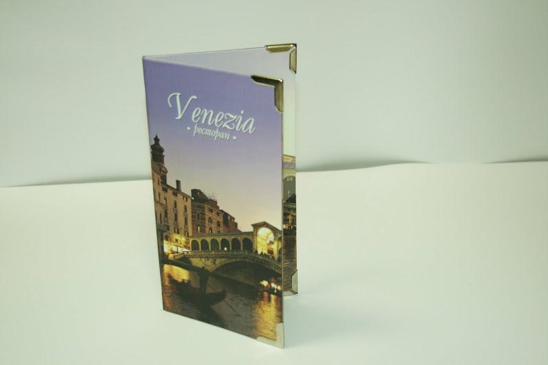 ВЕНЕЦИЯ. Счетница из ламинированного картона