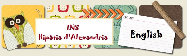 INS Hipàtia d'Alexandria (English Department)