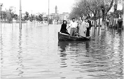 Alameda inundada Romero Murube