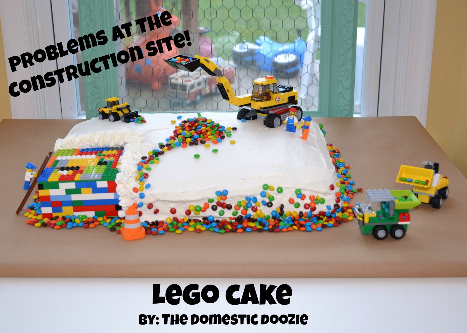 The Domestic Doozie Wills 5th Birthday Lego Style