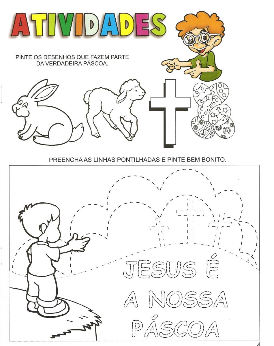 Preferência UNIVERSO INFANTIL: PASCOA - O SENTIDO VERDADEIRO BJ15
