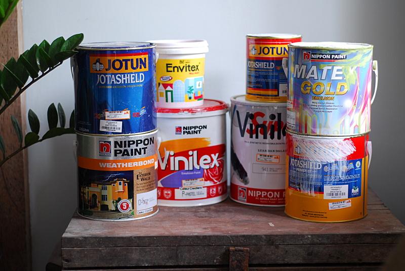 harga bahan bangunan 2015 tips memilih cat rumah tembok