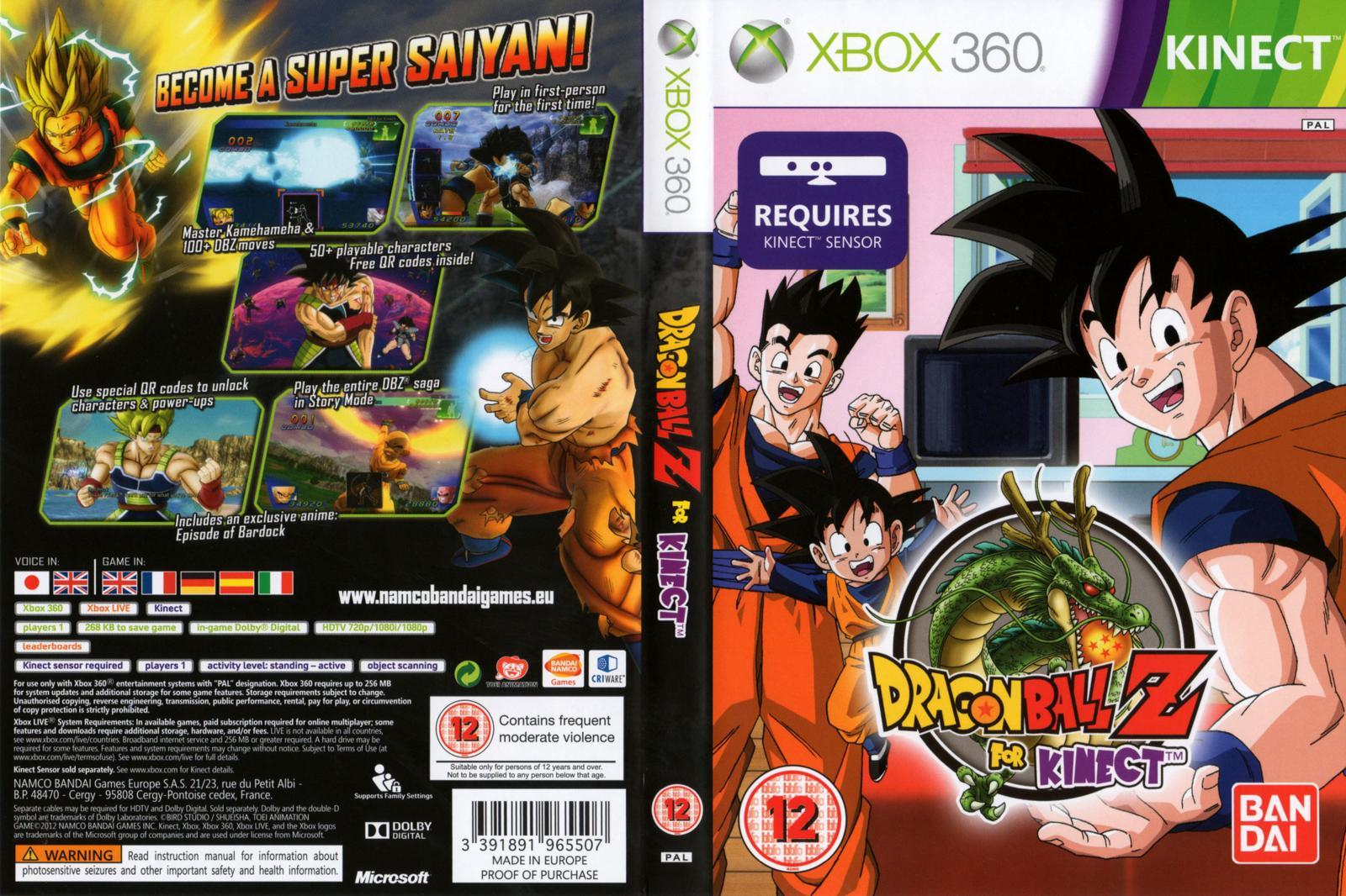 Dragon Ball Z For Kine...
