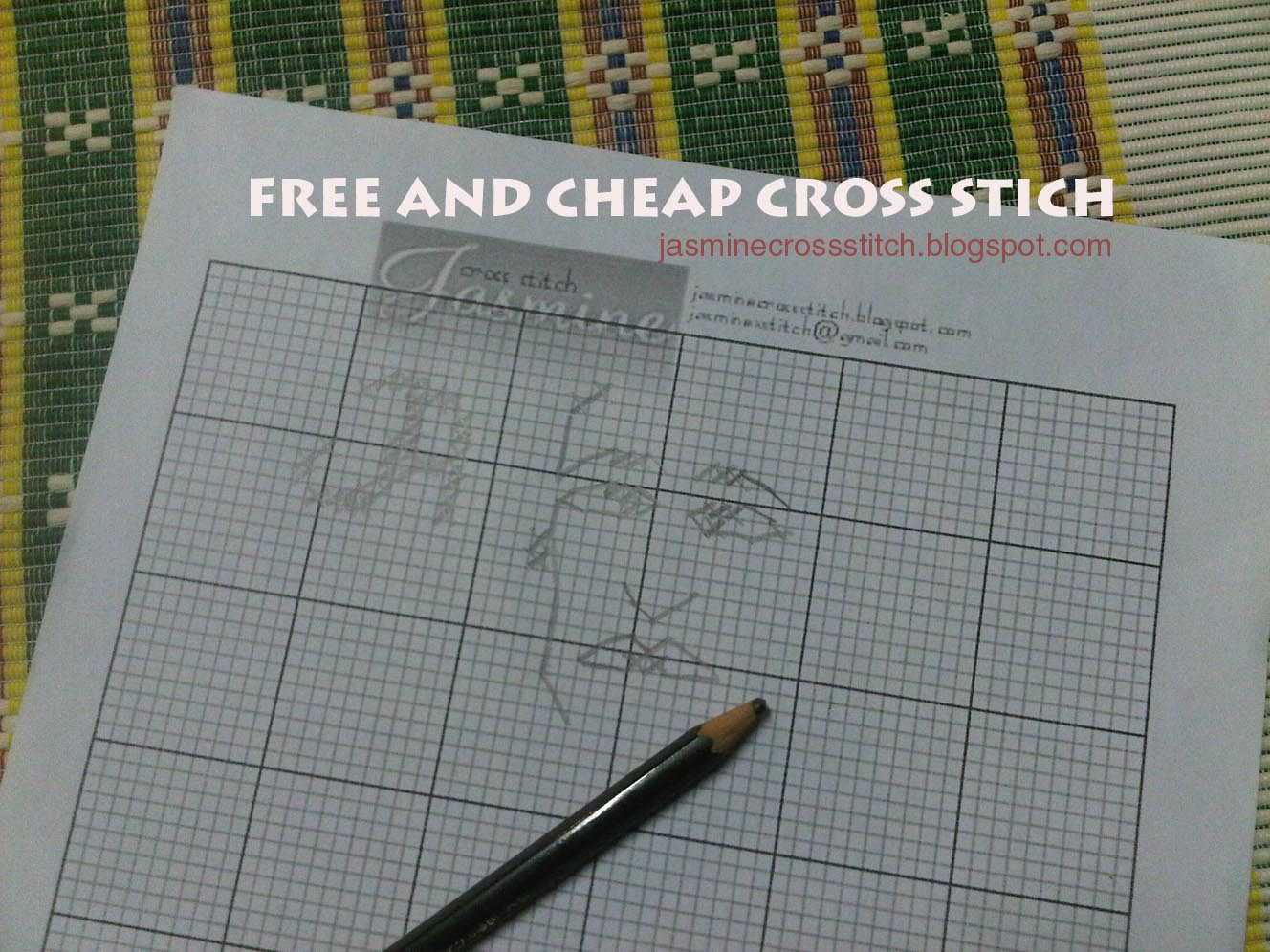How To Make Your Own Cross Stitch Pattern Unique Design