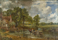 "John Constable ""The Hay Wain"" (ένας πίνακας ζωγραφικής του 1821 και θεωρείται το δεύτερο πιο διάσημο έργο τέχνης στην Αγγλία)"