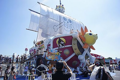 One Piece 1:1 Scale Thousand Sunny at Odaiba