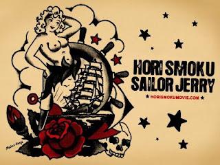 knifed in venice hori smoku sailor jerry. Black Bedroom Furniture Sets. Home Design Ideas