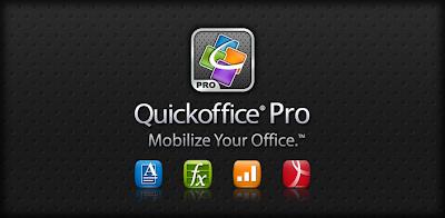 Quickoffice Pro v5.0.166 APK FULL