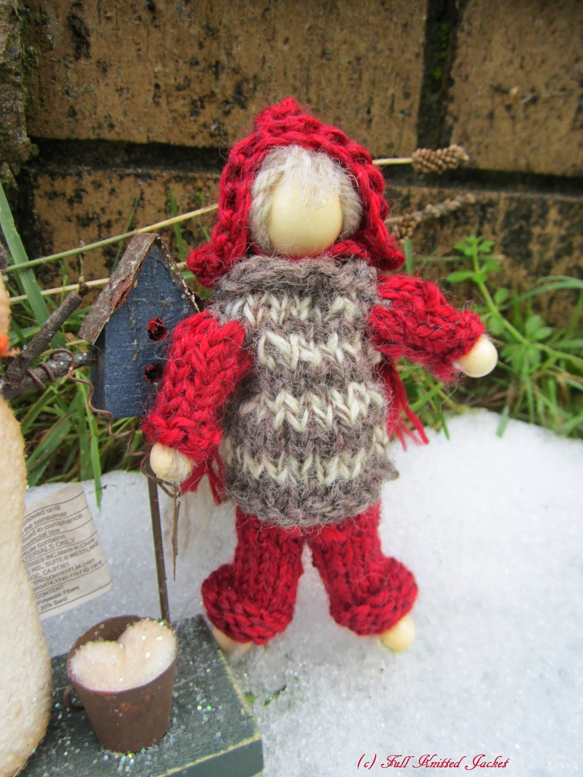 Knitting Pattern For Kindness Elves : Full Knitted Jacket