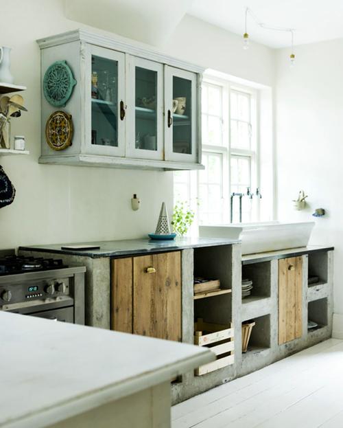Reciclar, reformar e decorar Bancadas e balcão de alvenar # Bancada Para Cozinha De Alvenaria