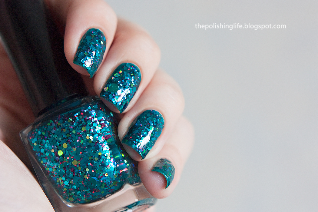 Femme Fatale Nightsong Grotto swatches and review