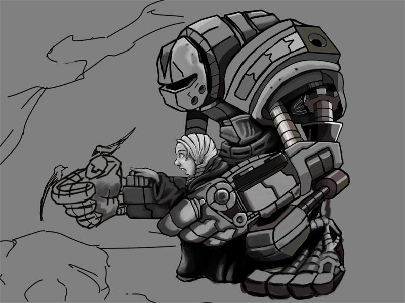 CHoW#286 :: Aoife & Her Mechanical Guardian