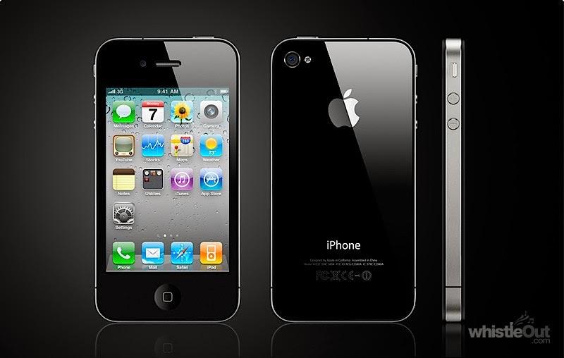 Harga Apple iPhone 4 8GB Baru : Rp 3.900.000,00
