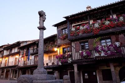 El pueblo de La Alberca