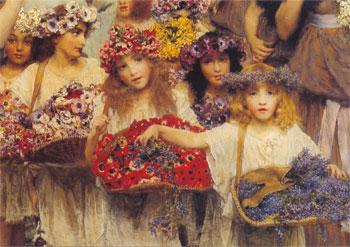 Lawrence Alma-Tadema - Page 3 Lawrence%2BAlma-Tadema%2BSpring%2B%2528detail4%2529%252C%2B1894