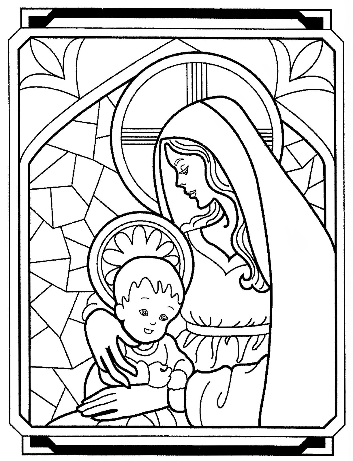 virgin mary coloring pages newspaper coloring contest