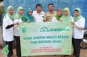 Bank Sampah Melati Bersih Puri Bintaro Hijau