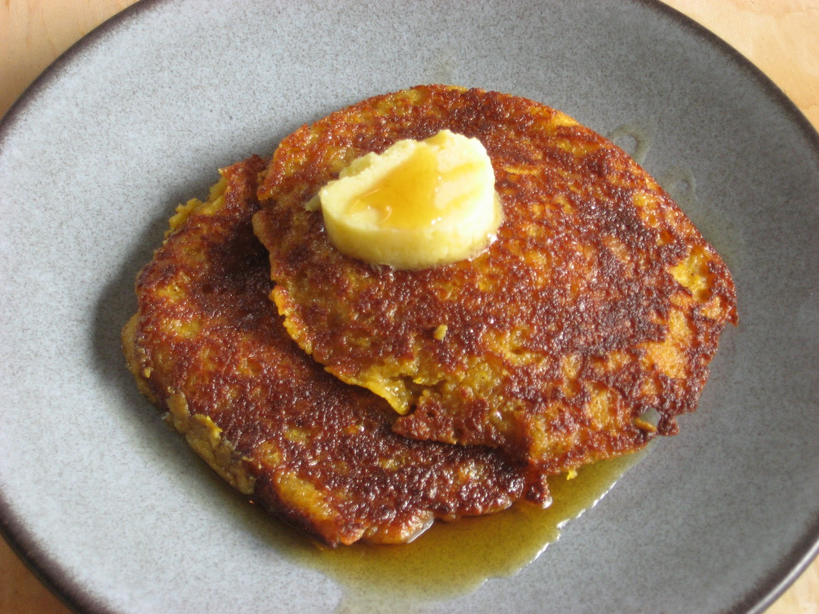 Recipes to Nourish: Pumpkin Pancakes w/ Ginger Honey Butter