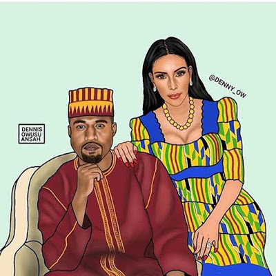 intresting pics of American celebs dressed as Africans