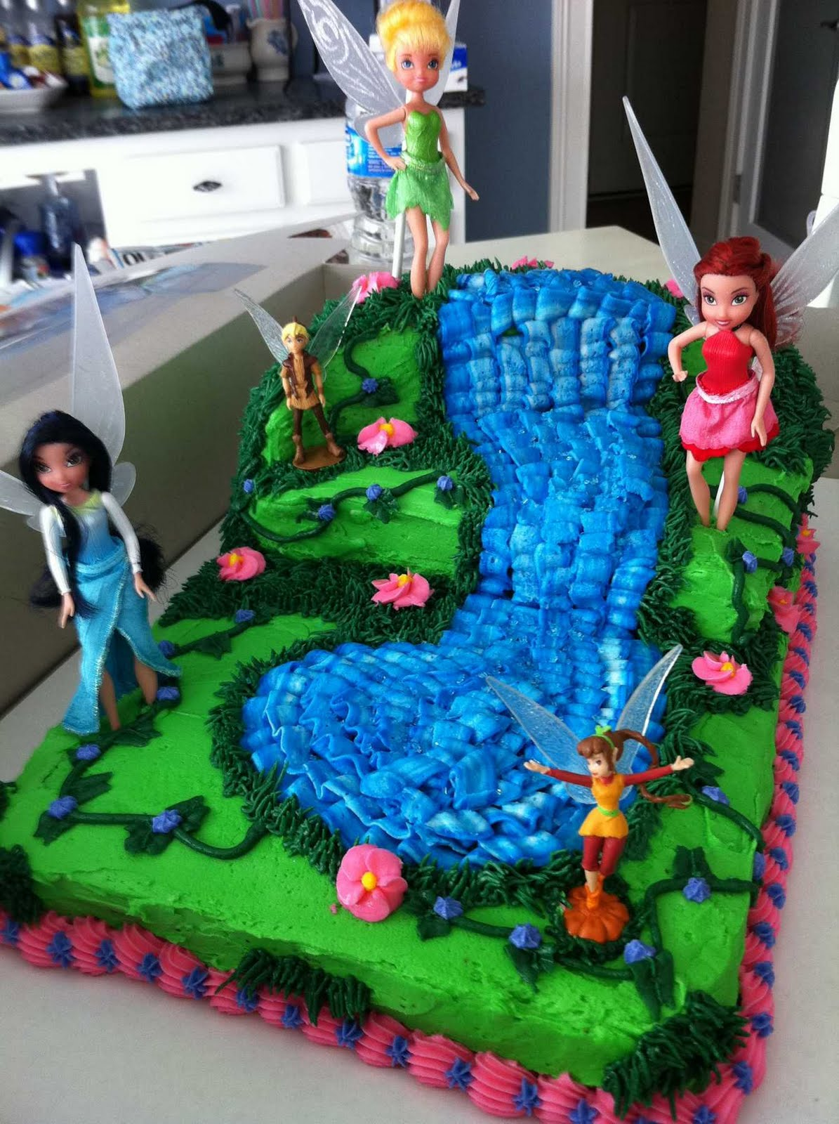 Tinkerbell Fairy Cake T Bakers Cakes