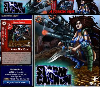 Storm Cannon at Superhero City