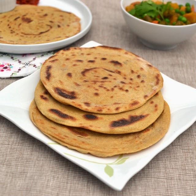 Kerala Parotta & Mixed Vegetable Curry
