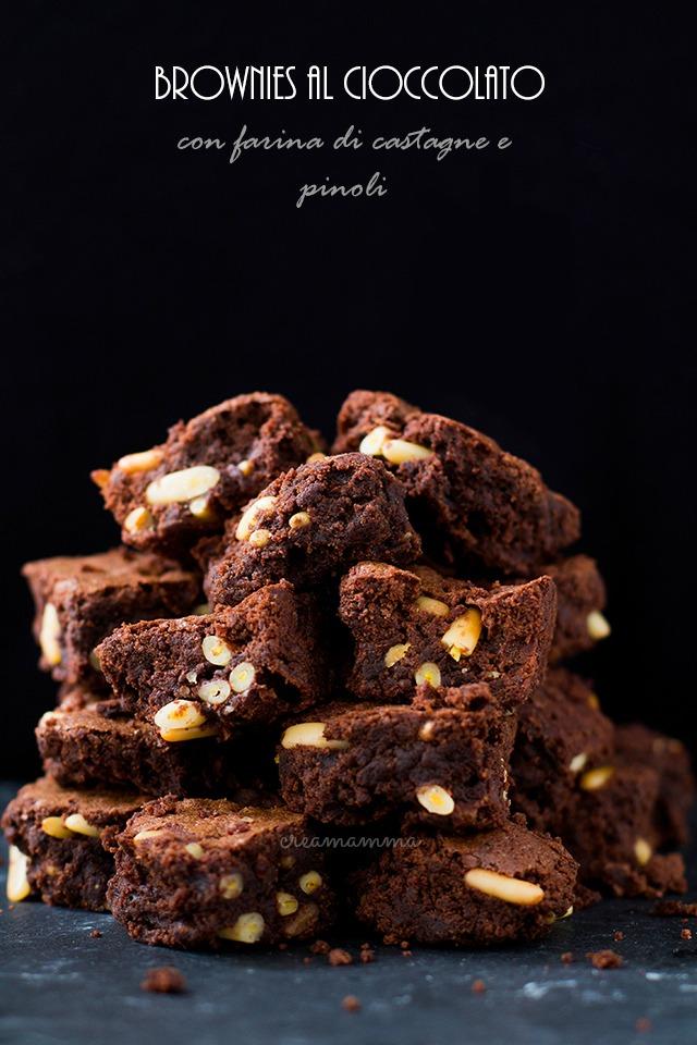 cioccolato farina di castagne pinoli