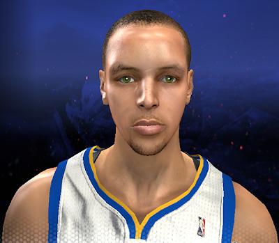 NBA 2K14 Stephen Curry Next-Gen Face