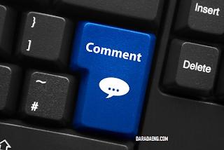 Cara Membuat Pesan di atas Form Komentar Blogger