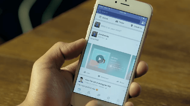 Facebooks new update music stories allows you to share music from spotify or itunes only available for iphone so far