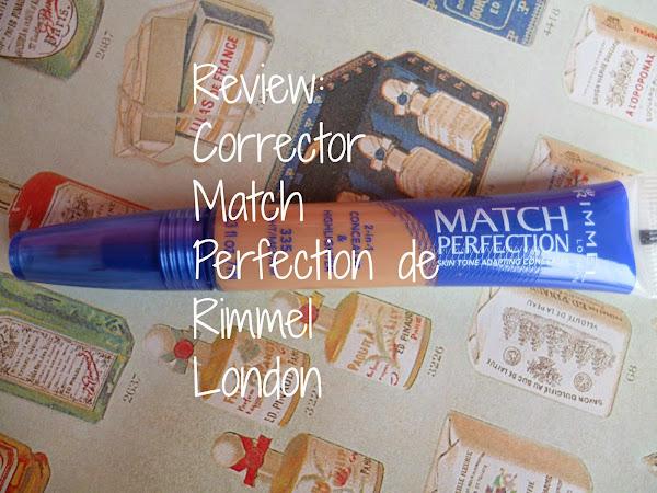 Review: Corrector Match Perfection de Rimmel