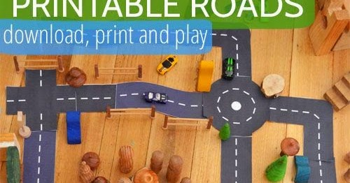 photo relating to Printable Roads identified as Encouraging Children Increase Up: Printable Streets For Children Who Delight in