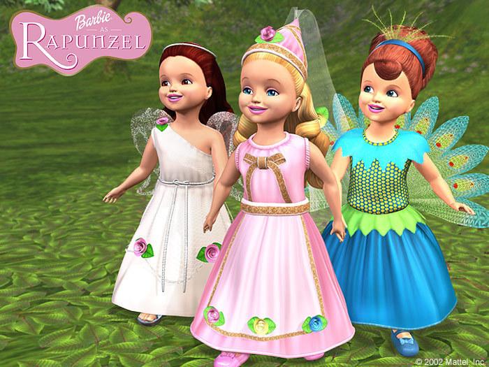 Barbie Rapunzel Image