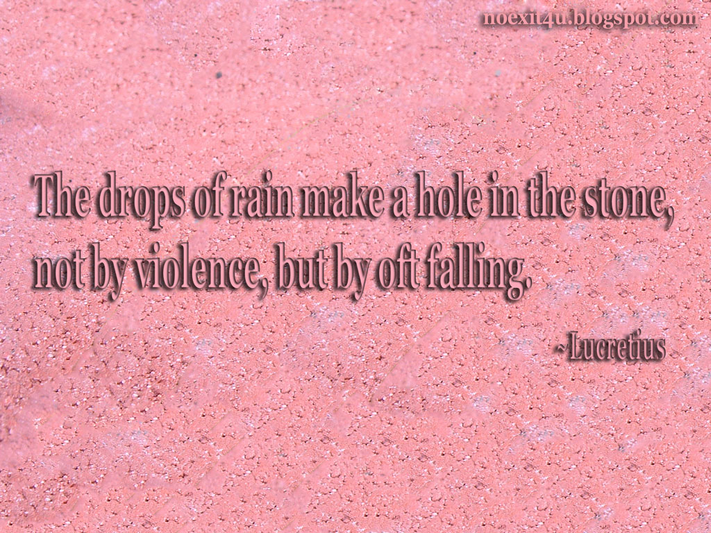 stone & rain quotes wallpaper (hd) ~ noexit4u
