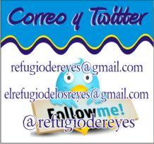 TWITTER Y CORREOS DE CONTACTO